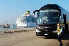 Costa Deliziosa fa tappa al porto di Corigliano