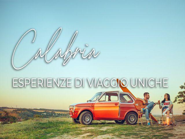 Calabria esperienze di viaggio uniche