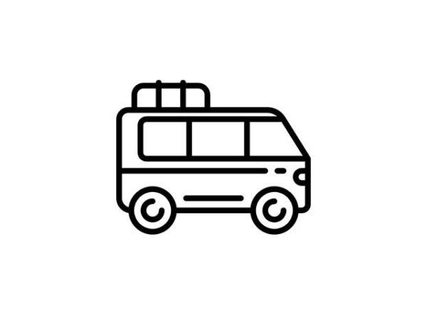 I minivan della flotta mezzi Andirivieni