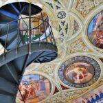 Scala a chiocciola Castello Ducale di Corigliano-Rossano